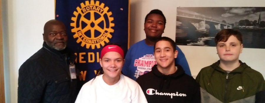 Medina Middle School at the Rotary Club