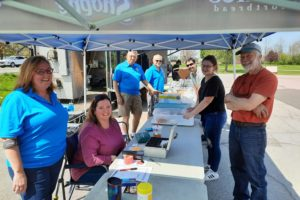 Rotary's Chicken & Ribs Barbeque is a Huge Success!